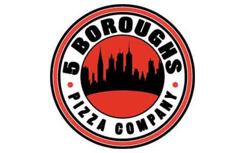 5 Boroughs Pizza & Subs Gift Cards