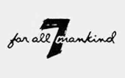 7 For All Mankind (In Store Only) Gift Cards