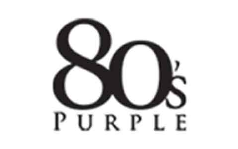 80s purple Gift Cards