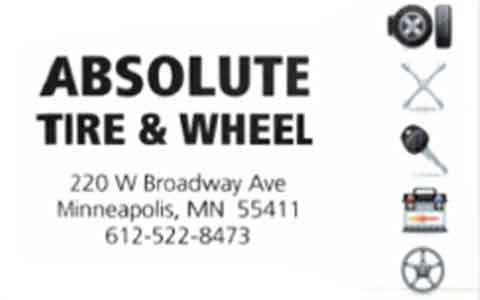 Absolute Tire & Wheel Gift Cards