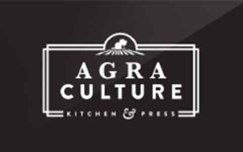 Agra Culture Kitchen & Press Gift Cards