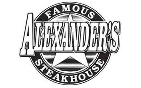 Alexander's Famous Steak House Gift Cards