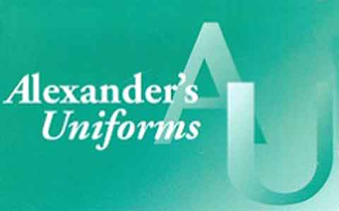 Alexander's Uniforms Gift Cards