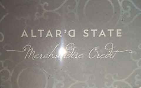 Altar'd State Gift Cards
