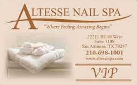 Altesse Nail Spa Gift Cards