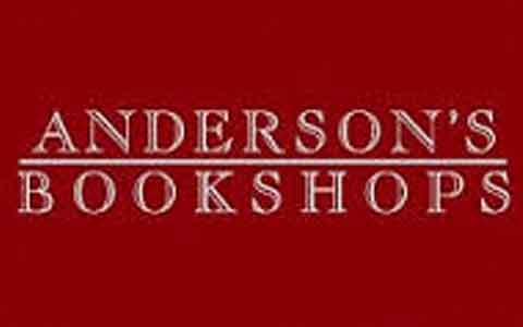 Anderson's Bookshops Gift Cards