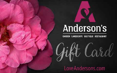 Anderson's Home & Garden Gift Cards