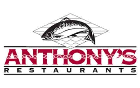 Anthony's Restaurants Gift Cards