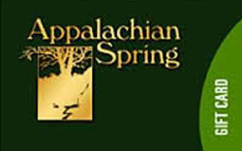 Appalachian Spring Gift Cards