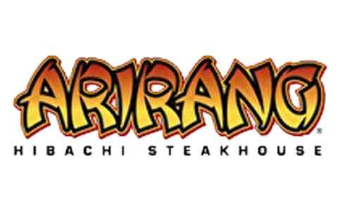 Arirang Hibachi Steak House Gift Cards