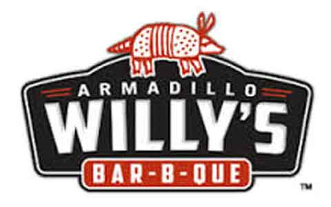 Armadillo Willy's BBQ Gift Cards