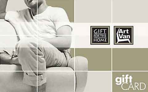 Art Van Furniture Gift Cards