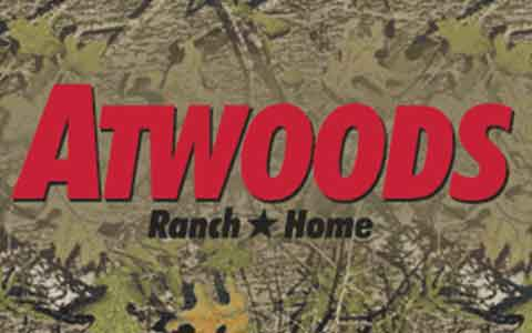 Atwoods Ranch & Home Gift Cards