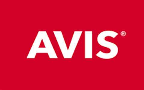 Avis Rental Cars Gift Cards