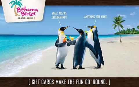 Bahama Breeze Gift Cards