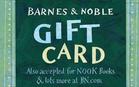 Barnes & Noble (In Store Only) Gift Cards