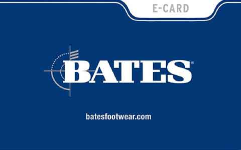 Bates Footwear Gift Cards
