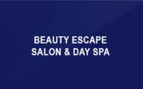 Beauty Escape Salon & Day Spa Gift Cards