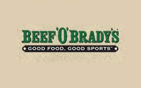 Beef 'O' Brady's Gift Cards