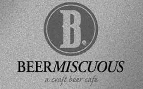 Beermiscuous Gift Cards