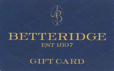 Betteridge Gift Cards