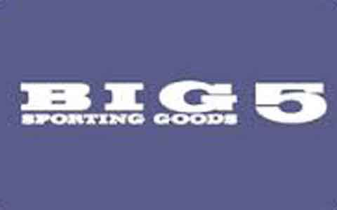 Big 5 Sporting Goods Gift Cards