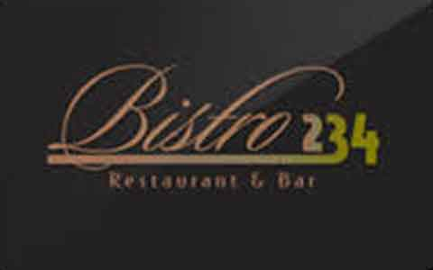 Bistro 234 Gift Cards
