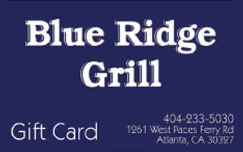 Blue Ridge Grill Gift Cards