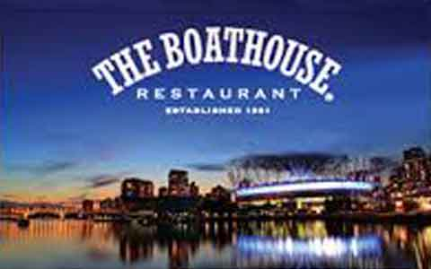 Boathouse Restaurant Gift Cards