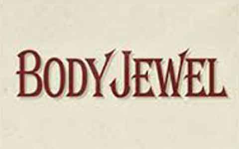 Body Jewel Gift Cards