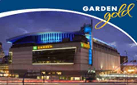 Boston Garden Gift Cards