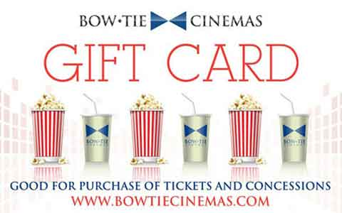 Bow Tie Cinemas Gift Cards