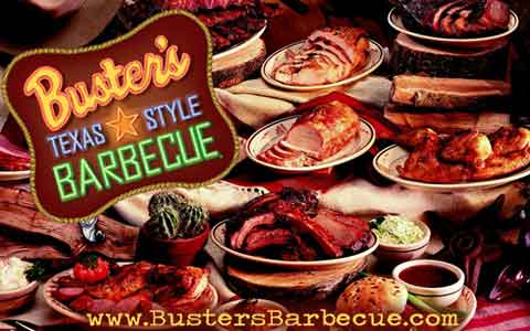 Buster's Barbecue Gift Cards