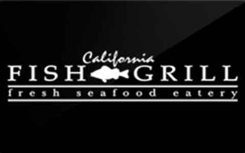 California Fish Grill Gift Cards