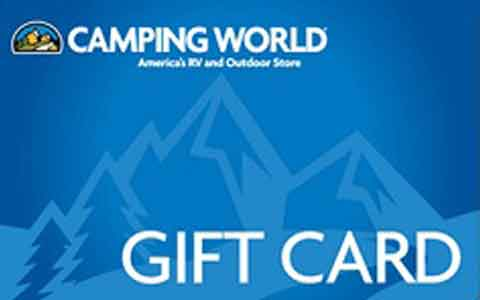 Camping World Gift Cards