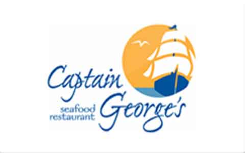 Captain George's Seafood Restaurant Gift Cards
