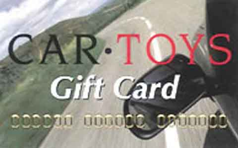 Car Toys Gift Cards