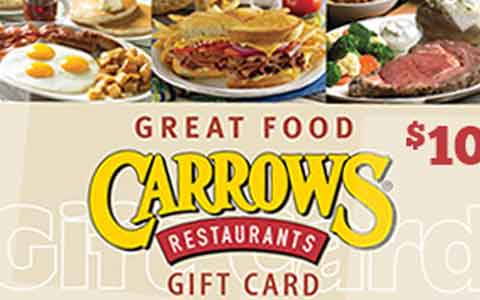Carrows Gift Cards