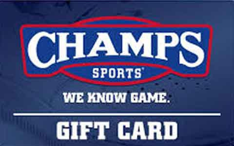 Buy Champs Sports Gift Cards