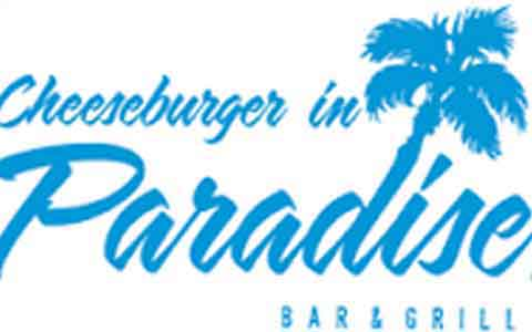 Cheeseburger In Paradise Gift Cards