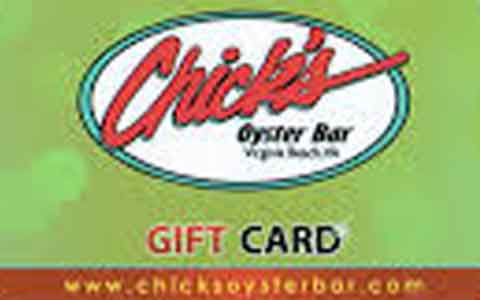 Chick's Oyster Bar Gift Cards