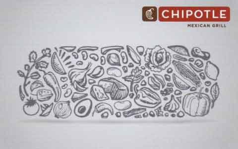 Chipotle (Physical) Gift Cards