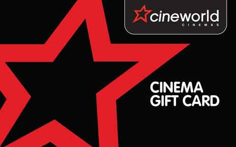 Cinemaworld Gift Cards