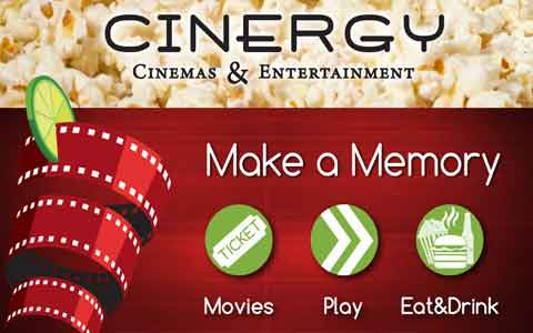 Cinergy Cinemas Gift Cards
