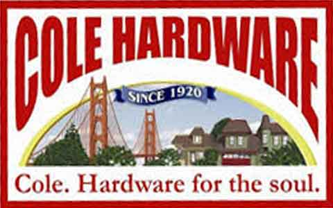 Cole Hardware Gift Cards