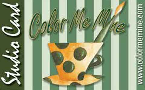 Color Me Mine Gift Cards