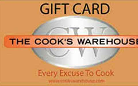 Cook's Warehouse Gift Cards