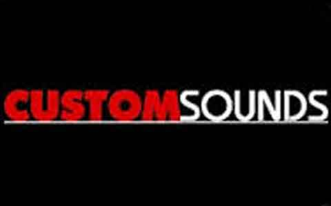 Custom Sounds Gift Cards