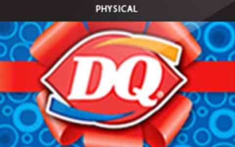 Buy Dairy Queen (Physical) Gift Cards
