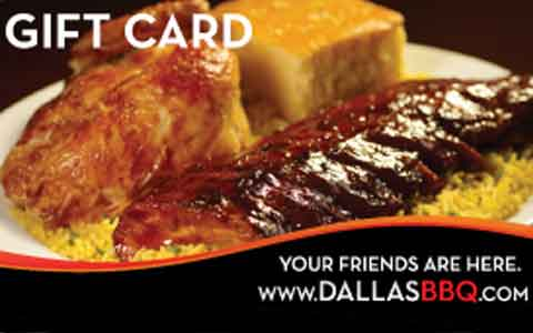 Buy Dallas BBQ Gift Cards